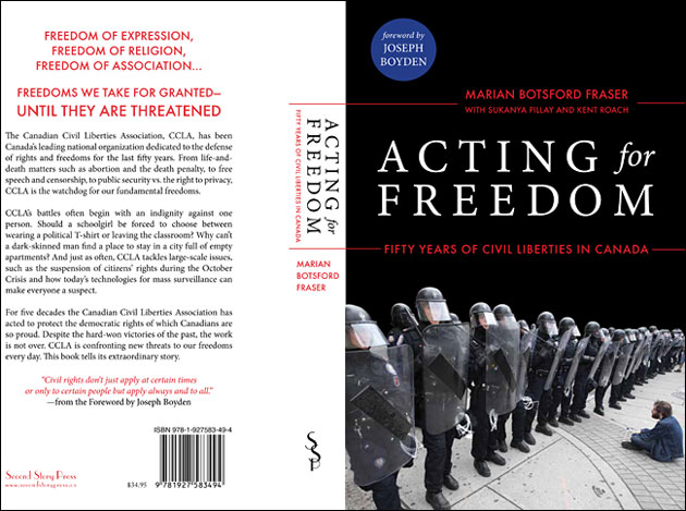 CCLA: Acting for Freedom